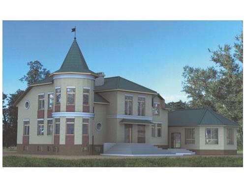 Загородный жилой дом 3 (от 500кв.,м.)