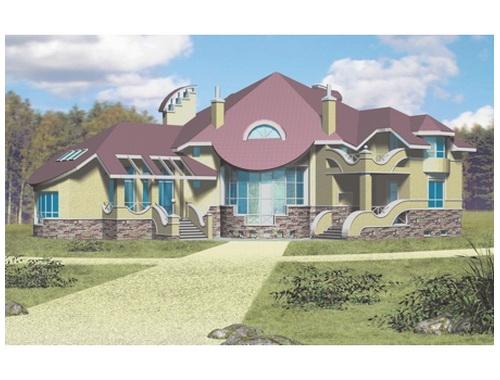 Загородный жилой дом 8 (от 500кв.,м.)