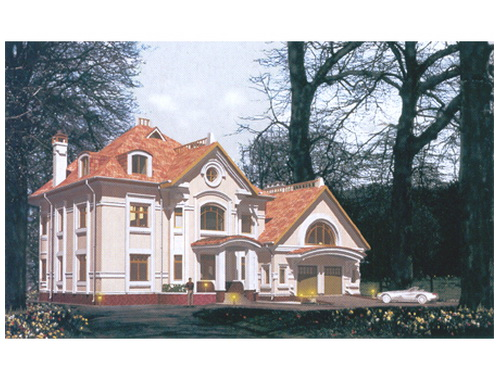 Загородный жилой дом 12 (от 500кв.,м.)