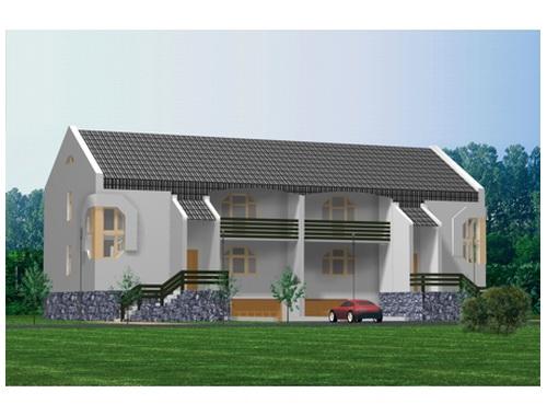 Загородный жилой дом 4 (от 500кв.,м.)