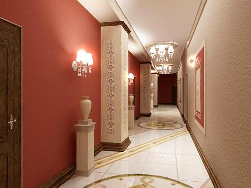 Тонкий подход к дизайну коридора