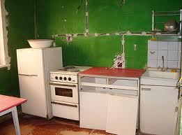 интерьер в кухне
