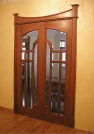 """межкомнатные двери """"под стекло"""""""