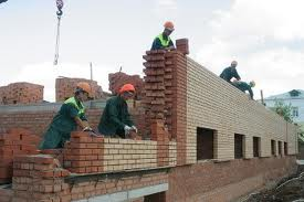 рабочие строительной фирмы