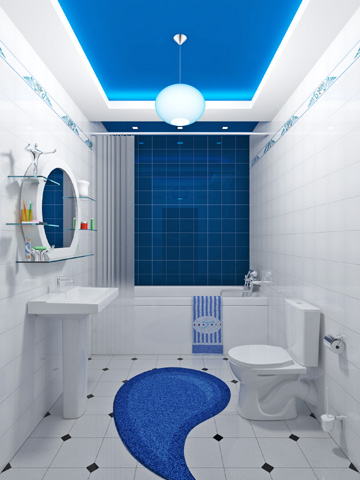 Уделим внимание ванной комнате